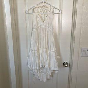 White Layered Free People Dress